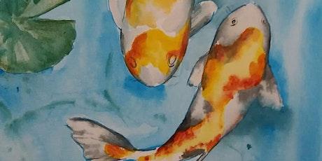 09/10/2021 Instant Masterpiece Painting Evening  - Porton (SP4 0LB) tickets