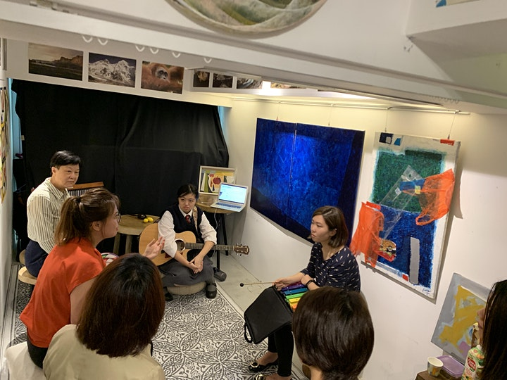 Music Therapy Experiential Learning workshop image