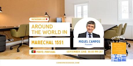 Virtual Coworking Tour // Around The World in Marechal 1551 Tickets