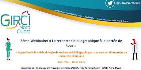 2ème Webinaire « La recherche bibliographique à la portée de tous » billets