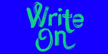 WRITE ON! SHOW DON'T TELL met Beri Shalmashi en Jan Salden tickets