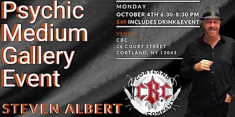 Steve Albert: Psychic Gallery Event - Cortland Beer Company tickets