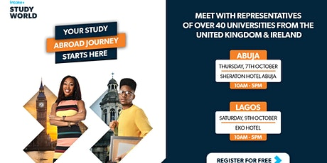 Intake Education Study World Exhibition tickets