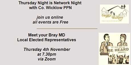 Meet  your Bray Municipal District Local Elected Representatives tickets