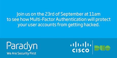 Multi Factor Authentication Webinar tickets