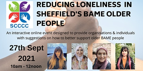 Reducing Loneliness in Sheffield's BAME older people tickets