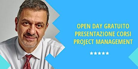 OPEN DAY FORMAZIONE PROJECT MANAGEMENT biglietti
