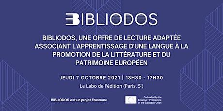 Conférence internationale : Bibliodos, les classiques européens adaptés billets