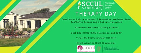 The SCCUL Sanctuary Therapy Day tickets