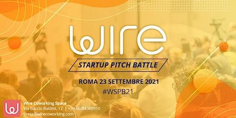 Wire Startup Pitch Battle 2021 biglietti