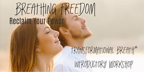 BREATHING FREEDOM An Intro to Transformational Breath® ONLINE tickets
