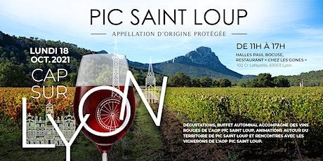 L'AOP Pic Saint Loup - Cap sur Lyon billets