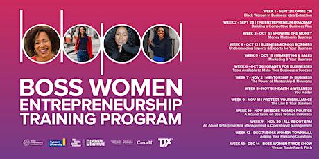 Boss Women Entrepreneurship Program Season 5 tickets