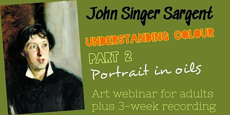 Paint like Sargent - Online Art Class for Adults tickets