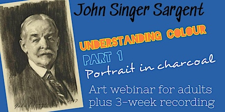 Draw like Sargent - Online Art Class for Adults tickets