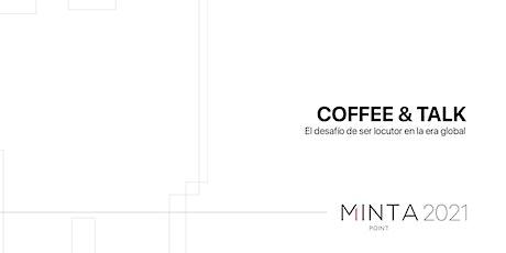 COFFEE & TALK | El desafío de ser locutor en la era global entradas