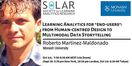 Learning Analytics for end-users: from HCD to Multimodal Data Storytelling tickets