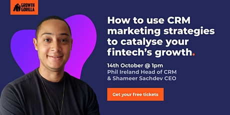 How to Use CRM Marketing Strategies to Catalyse Your Fintech's Growth tickets
