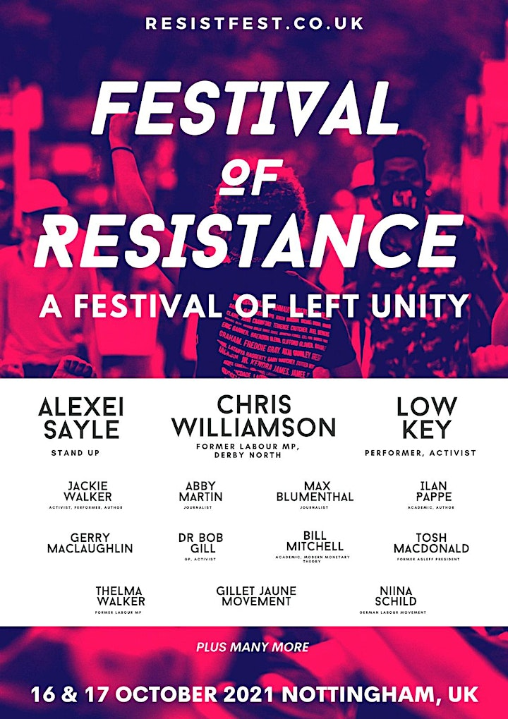 FESTIVAL OF RESISTANCE image