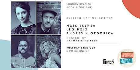 British Latinx Poetry tickets