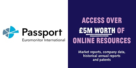 Access a global market research platform with your free library card tickets
