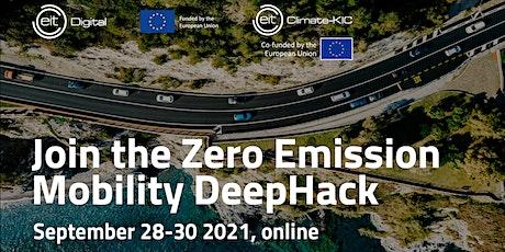 Zero Emission Mobility DeepHack tickets