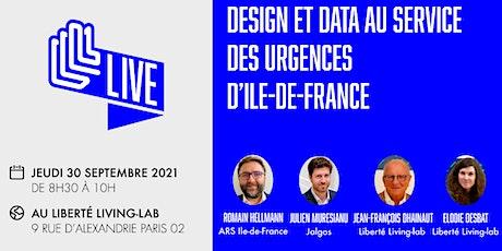 LLL Live - Design et data au service des urgences d'Ile-de-France billets