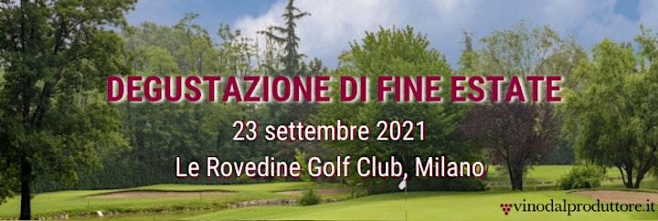 Immagine Degustazione di Fine Estate 23 Settembre Milano