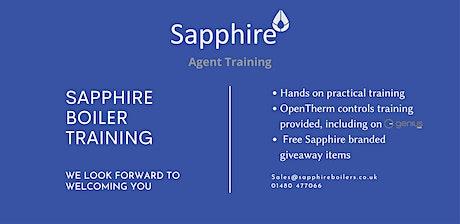 Sapphire Boiler Training tickets