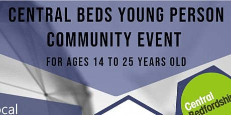 Central Beds Young Person Community Event for Ages 14 to 25 years old tickets