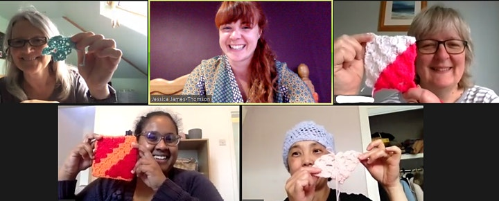 Calming Crochet for Parents: Taster Session- With Trauma Informed Parenting image