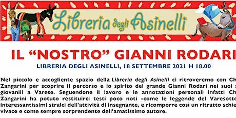 Il nostro Gianni Rodari, con Chiara Zangarini  alla Libreria degli Asinelli biglietti