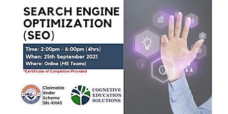 Search Engine Optimization (SEO) tickets