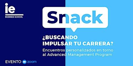 Snack: Potencia tu carrera profesional, el futuro ha llegado tickets
