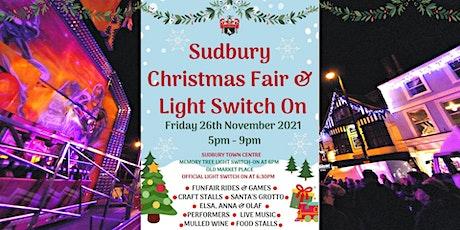 Sudbury Christmas Fair & Light Switch On tickets