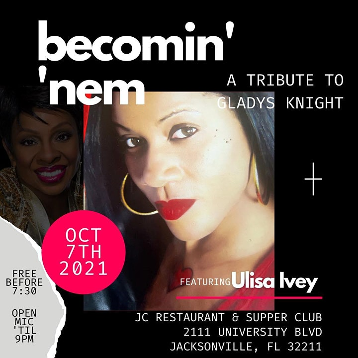 becomin' 'nem featuring Ulisa Ivey as Gladys Knight image