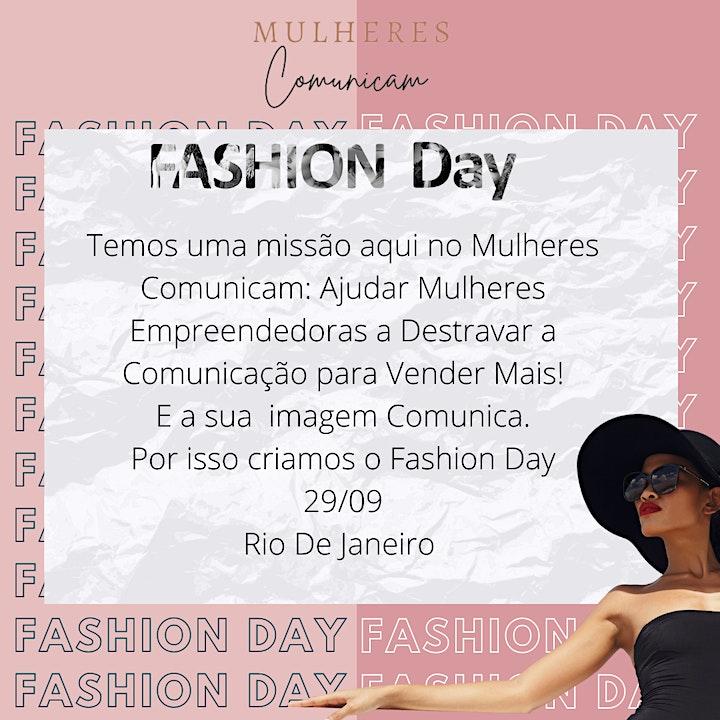 Imagem do evento Fashion Day Mulheres Comunicam