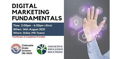 Digital Marketing Fundamentals tickets