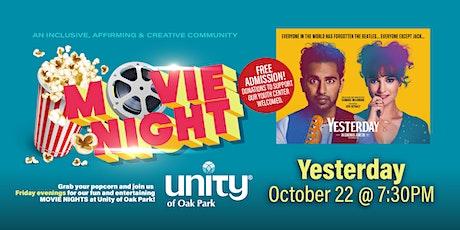 "Movie Night ""Yesterday"" & Mini Concert - FREE! tickets"
