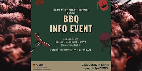 BBQ Info Event Tickets