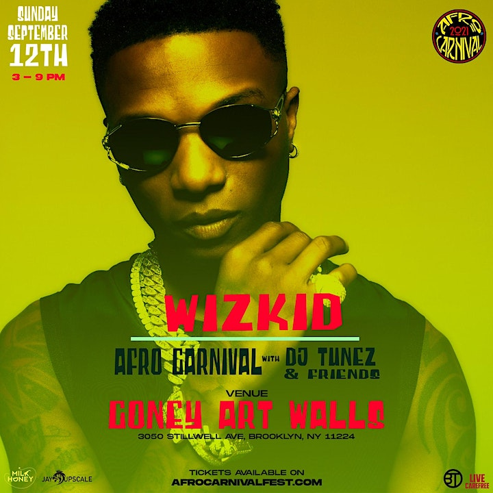 Afro Carnival Featuring Wizkid Live! image