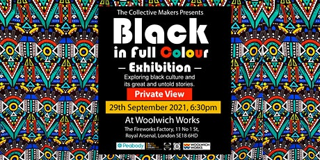 Black in Full Colour - Private View tickets