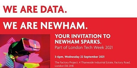 Newham Sparks at London Tech Week tickets