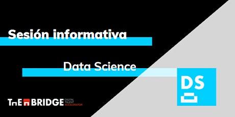 Sesión informativa: Data Science entradas