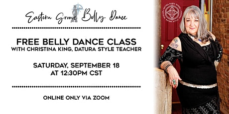 FREE Belly Dance Class! tickets