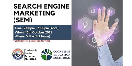 Search Engine Marketing (SEM) tickets