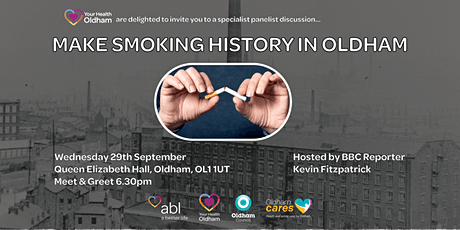 Make Smoking History In Oldham tickets