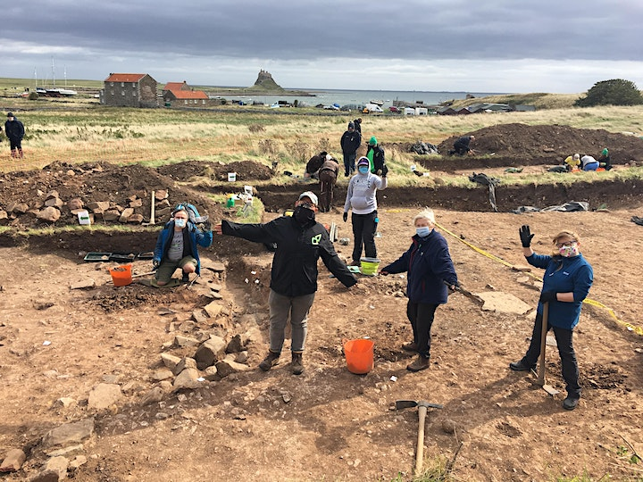Virtual Tour - Explore early medieval remains on Lindisfarne image