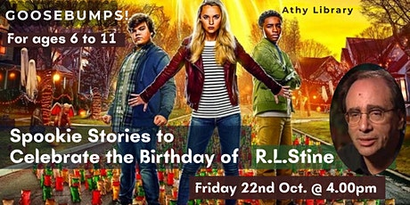 Goosebumps! Spooky Stories to celebrate  the birthday of R.L Stine tickets