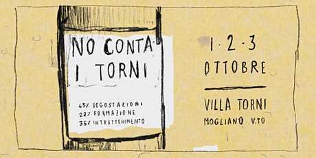 No Conta I Torni - Sabato 2 Ottobre biglietti